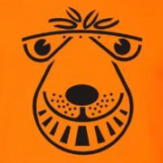 Space Hopper T-Shirt (orange)